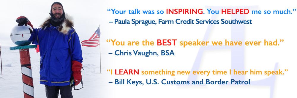 motivational speaker aaron linsdau