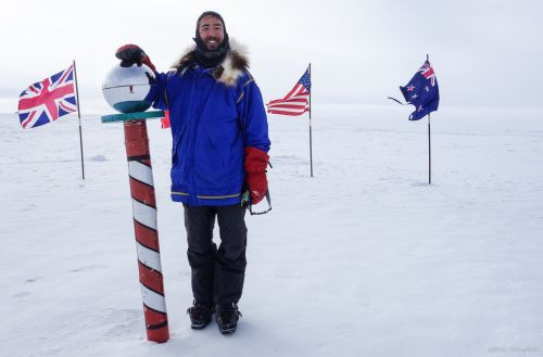 Antarctic tears day 64
