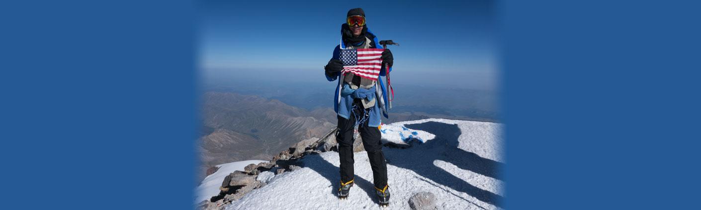 Mt Elbrus Sky